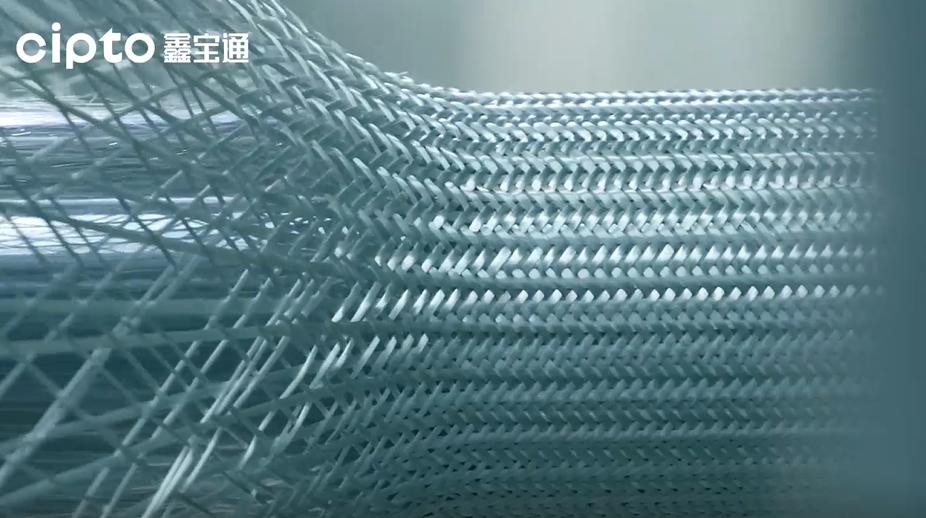 纤维缠绕编织